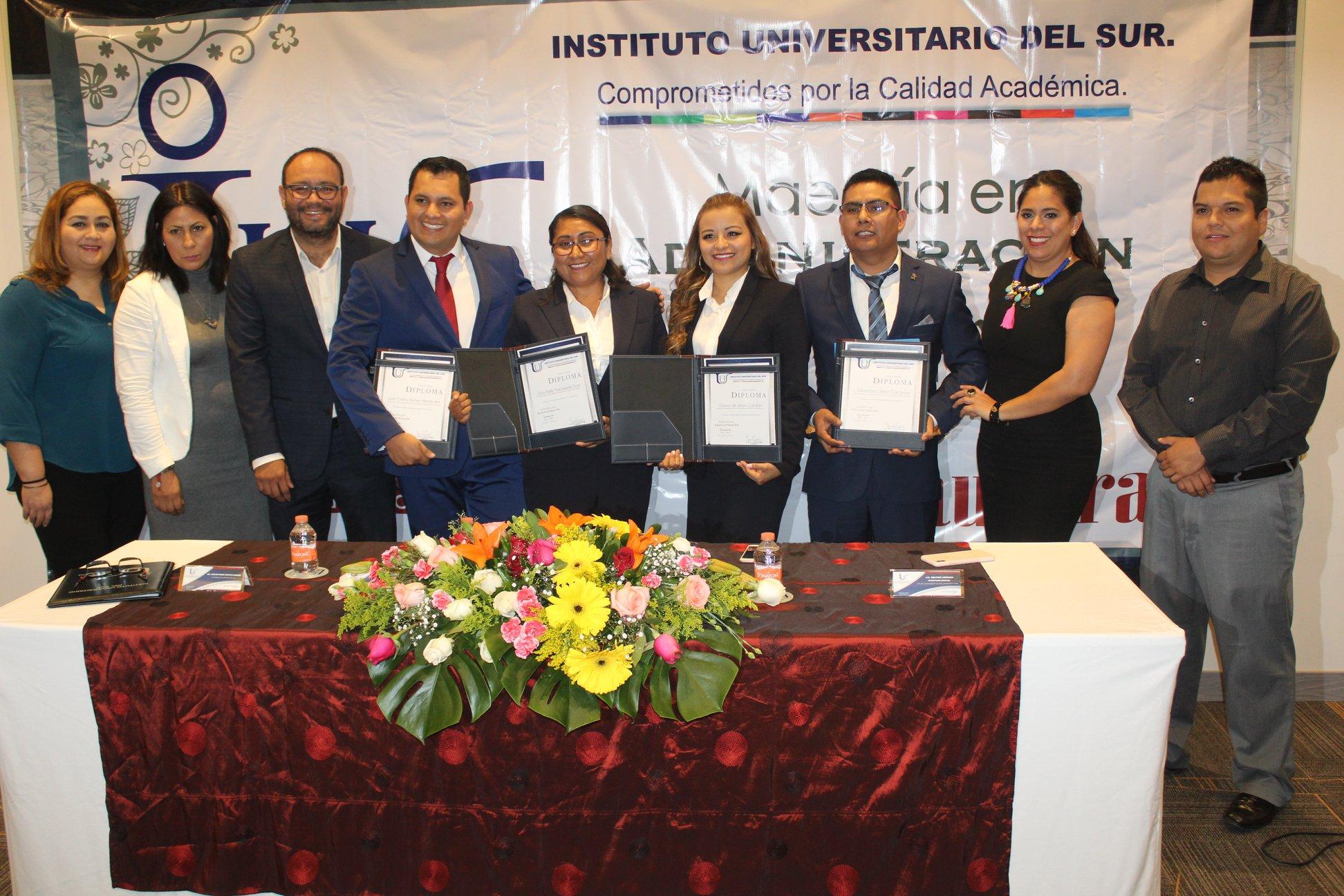 Ceremonia de Clausura de la Maestría en Administración Generación 2017 – 2019